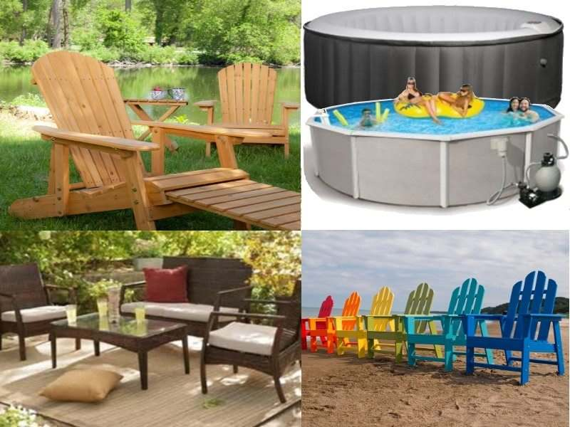 patio furniture - pools - spas